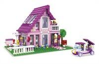 """Конструктор """"страна чудес. розовый домик"""", 576 деталей, AUSINI"""