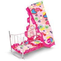 Кроватка для кукол, 47x32,5x65 см, mami