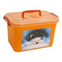 """Ящик для игрушек """"радуга"""", 6,5 л, Полимербыт"""