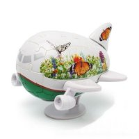 """Фигурный пазл 3d """"самолетик. бабочки"""" (40 деталей, 11,5 см), Pintoo"""
