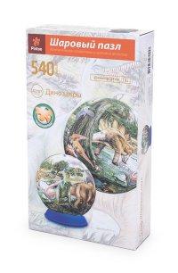 """Шаровый пазл """"динозавры"""" (540 деталей, 23 см), Pintoo"""