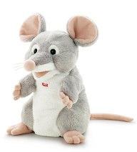 Игрушка на руку мышка, 25 см, Trudi