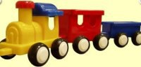 Паровозик с двумя вагонами, Форма