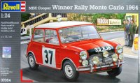 Автомобиль mini cooper (победитель ралли монте карло 1964), Revell (Ревелл)