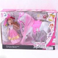 """Игровой набор """"кукла с лошадью"""", арт. jhd689-5, Shenzhen Jingyitian Trade Co., Ltd."""