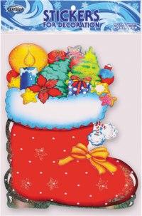 """Декоративная наклейка """"новый год"""", 25x35,5 см, 1 штука, CENTRUM"""