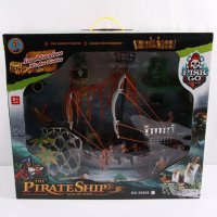 "Игровой набор ""пиратский корабль"", арт. 50898e, Shenzhen Jingyitian Trade Co., Ltd."