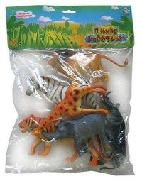 """Набор животных """"в мире животных"""", 6 штук (арт. т50466), 1 Toy"""