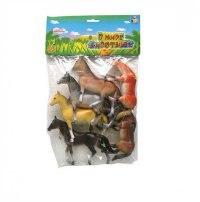 """Набор лошадей """"в мире животных"""", 6 штук (арт. т50498), 1 Toy"""