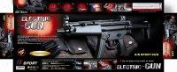 """Оружие детское """"автомат с пульками"""", 430 мм, с аккумулятором, лазерное, Китай"""