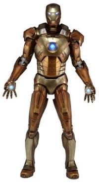 "Фигурка ""avengers"" iron man mark xxi - midas version (gold armor), Neca"
