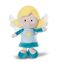 """Мягкая игрушка """"ангел-хранитель"""", голубой (15 см), NICI"""