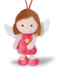"""Мягкая игрушка """"ангел-хранитель"""", розовый (25 см), NICI"""