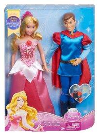 "Disney princess. набор кукол ""спящая красавица и принц филипп"", Mattel (Маттел)"