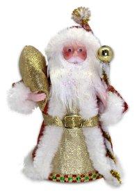 Дед мороз под елку, 20 см (красный), арт. 949130, Новогодняя сказка
