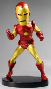 "Фигурка ""iron man"" marvel classic - iron man head knocker extreme, Neca"