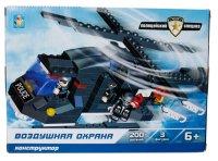 """Конструктор """"полицейский спецназ. воздушная охрана"""", 200 деталей, 1 Toy"""