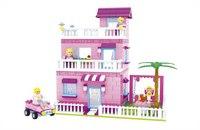 """Конструктор """"страна чудес. трехэтажный дом"""", 501 деталь, AUSINI"""