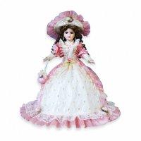 """Кукла фарфоровая каролина,18"""", Lisa Jane"""