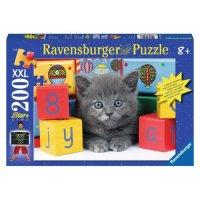 """Пазл """"котенок с кубиками"""", 300 элементов, Ravensburger"""