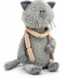 """Мягкая игрушка """"кот обормот с сосисками"""", 30 см, Orange exclusive"""