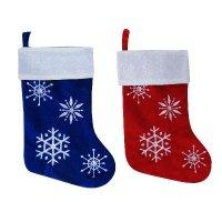 """Носок подарочный """"снежинки"""" (46 см), арт. е94732, Snowmen"""