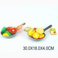 Набор фруктов и овощей (со сковородой), Shantou Gepai