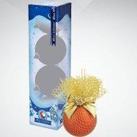"""Набор шаров """"паутина"""", d: 60 мм; цвет: оранжевый, золотой, Mister Christmas"""