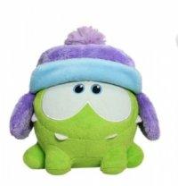 """Мягкая игрушка """"cut the rope"""" в зимней шапке, со звуком, 12 см, 1 Toy"""