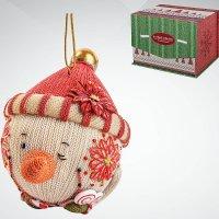 """Статуэтка """"снеговик"""", 10 см; цвет: белый, красный, Mister Christmas"""