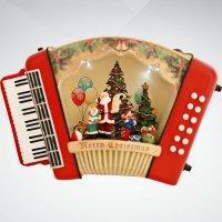 """Композиция музыкальная """"гармонь"""", Mister Christmas"""
