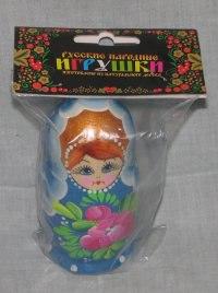 Матрешка 3 в 1, расписная, Русские народные игрушки
