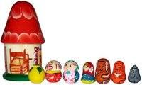 """Пальчиковый театр в домике """"репка"""", Русские народные игрушки"""