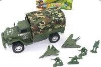 """Машина инерционная """"военная"""", с самолетами, Shantou Gepai"""