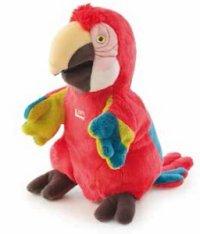 Игрушка на руку попугай, 25 см, Trudi