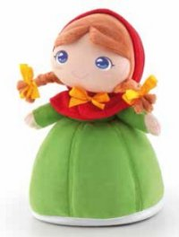 Мягкая кукла - принцесса розелла, 24 см, Trudi