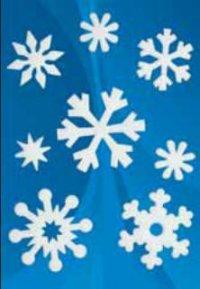 """Наклейки """"новый год. белые снежинки"""", Herma"""