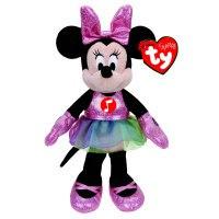 """Игрушка мягкая """"sparkle minnie"""", озвученная, 20,3 см (в фиолетовом платье), Disney (Дисней)"""