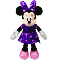 """Игрушка мягкая """"sparkle minnie"""", озвученная, 20,3 см (в синем платье), Disney (Дисней)"""