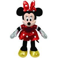 """Игрушка мягкая """"sparkle minnie"""", озвученная, 20,3 см (в красном платье), Disney (Дисней)"""