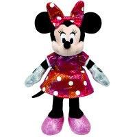 """Игрушка мягкая """"sparkle minnie"""", озвученная, 20,3 см (в цветном платье), Disney (Дисней)"""