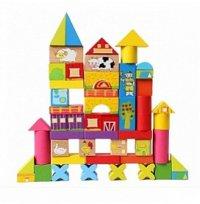 """Деревянная игрушка-конструктор """"ферма"""", 52 детали, Лесная сказка (игрушки)"""