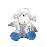 """Мягкая игрушка """"овечка в шубке синей"""" (26 см), Gulliver (Гулливер)"""
