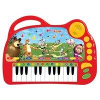 """Обучающее пианино """"маша и медведь"""", Умка (игрушки)"""