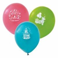 """Набор воздушных шаров """"с днем рождения!"""", 25 см, 20 штук, Action!"""