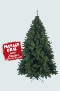 """Ель искусственная """"сосна рождественская"""", 155 см (с гирляндой на 370 ламп), Triumph Tree"""