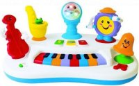 "Развивающая игрушка ""пианино рок-банда"", Kiddieland"
