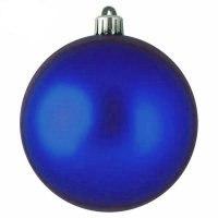 Набор шаров, 24 штуки, 3 см, блестящие синие, WINTER WINGS