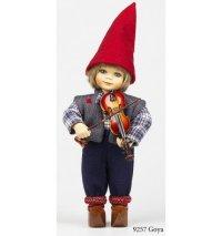 """Кукла """"goya"""" со скрипкой, 28 см, Birgitte Frigast"""