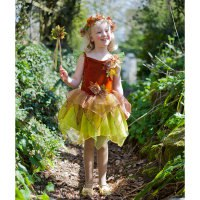 """Карнавальный костюм """"осенняя фея"""", возраст 3-5 лет, рост 98-110 см, Travis Designs"""